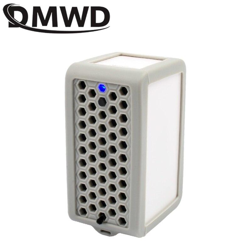 DMWD oczyszczacz powietrza negatywny Generator żelaza jonizator sterylizator przenośny USB mini bar tlenowy usunąć zapach dymu formaldehydu pm2.5