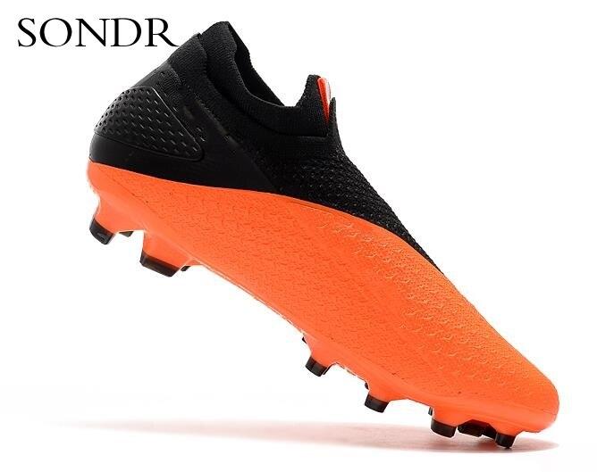 Новые уличные мужские футбольные бутсы высокие лодыжки бутсы тренировочные спортивные кроссовки FG - 2