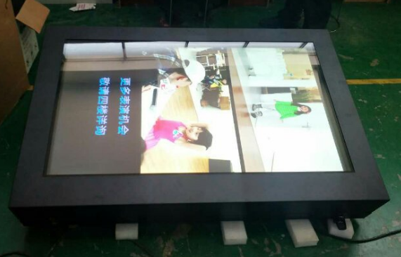 55 Inch Outdoor Wall Mounted Digital Kiosk Lcd HD 1080p Display Multimedia Advertising Screen Monitor