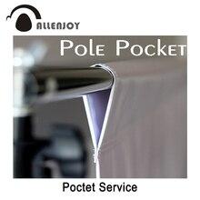 خدمة إضافية إضافة جيب القطب يمكن تخصيص الحجم