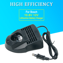 Max12V 10.8V AL1115CV için yedek şarj Bosch lityum şarj edilebilir pil BAT411 BAT412A BAT413A 2 607 336 996 abd/ab tak