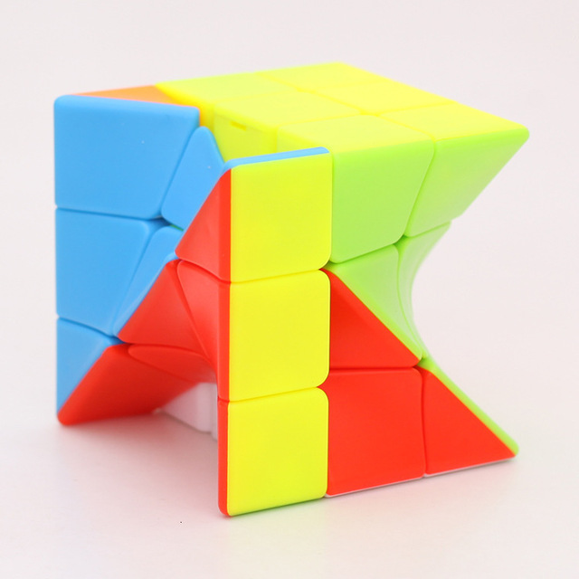 Z-Cube 3x3x3 Neo Torsion Twist magic cube puzzle Zcube 3x3x3 Intelligence Twisted Educational Cool Toys 4