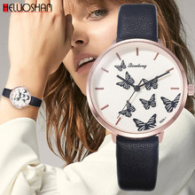 Simple Style White Leather Watches Women Fashion Watch Minimalist Ladies Casual Wrist Watch Female Quartz Clock Reloj Mujer 2019(China)