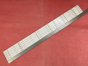 Image 4 - New Kit 5 PCS 10LED(3V) 842.5mm LED backlight strip for 43PFT4131 43PFS5301 GJ 2K15 430 D510 GJ 2K16 430 D510 V4 01Q58 A