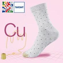 Tanzant Cux copper Fiber Antibacterial Socks Athletic Ankle Socks for Womens Business leisure Moisture Wicking Socks 5 Pairs цены