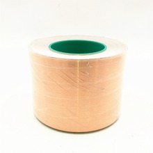 50m*100mm double-sided conductive copper foil tape conductive heat shield high temperature resistant tape 0.065mm thick