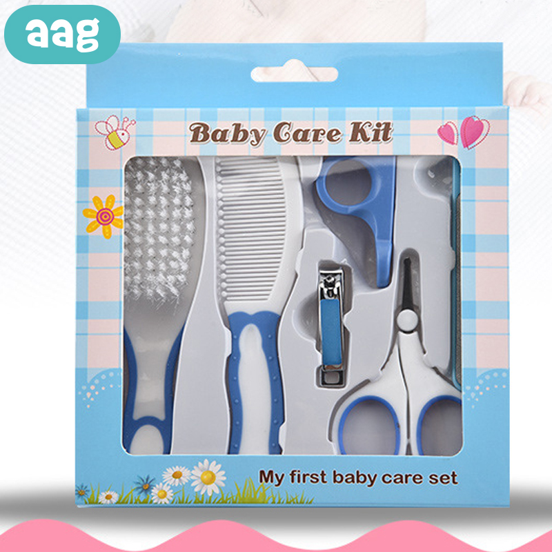 AAG Children Nail Trimmer Care Set Baby Care Hygiene Kit Child Nail Cutter Finger Scissors Nailnippers Shear Manicure Tool Comb