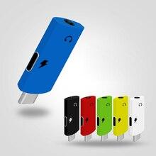 2 в 1 тип-c аудио кабель Aux Зарядка для наушников конвертер USB c до 3,5 мм разъем для наушников адаптер для huawei/Xiaomi Mi9/samsung