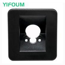 Yifoum suporte da câmera de visão traseira do carro luz da placa licença habitação montagem para kia k3 k3s rio cerato forte/hyundai i30 elantra avante