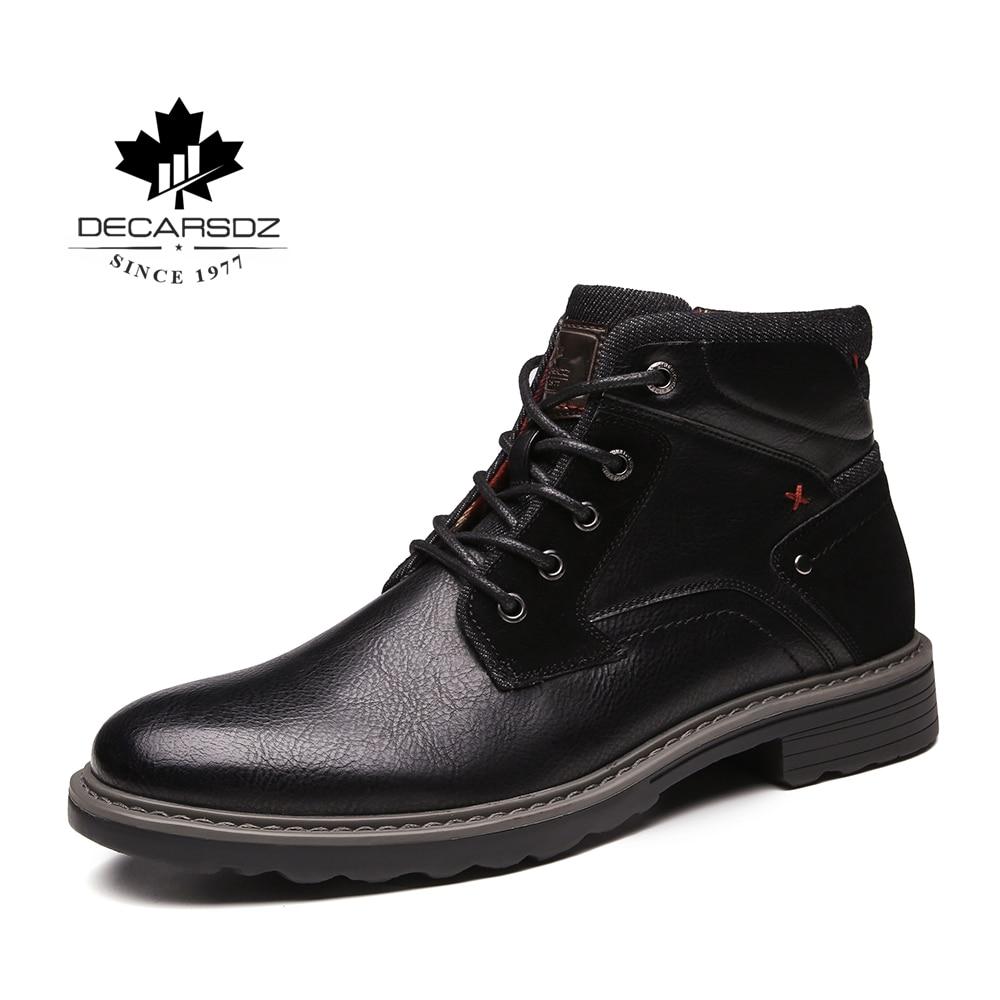 2019 Autumn Boots For Men Winter Fashion Shoes Men Brand Design Ankle Botas Men Casual Boots New Durable Basic Boots Men's Boots