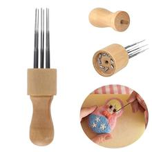 Felt Kit Efficient Convenient Wool Needle Felting Set with Solid Wood Handle Stitch Punch Craft Tool Hobby 12v to 24v 20a 25a 30a step up dc dc converter 30 amp 720 watt 12vdc to 24vdc 30amp voltage regulator power boost module ce rohs