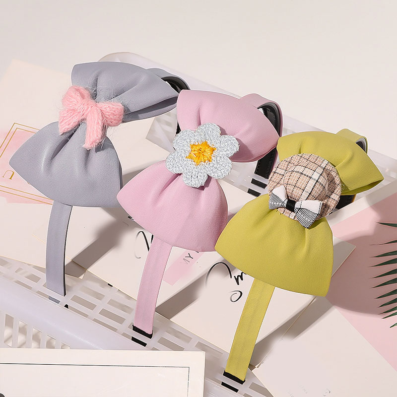Cerceau de princesse pour filles, bandeau, cheveux dentaires antidérapant, chapeaux de fleur, mignons, accessoires pour cheveux