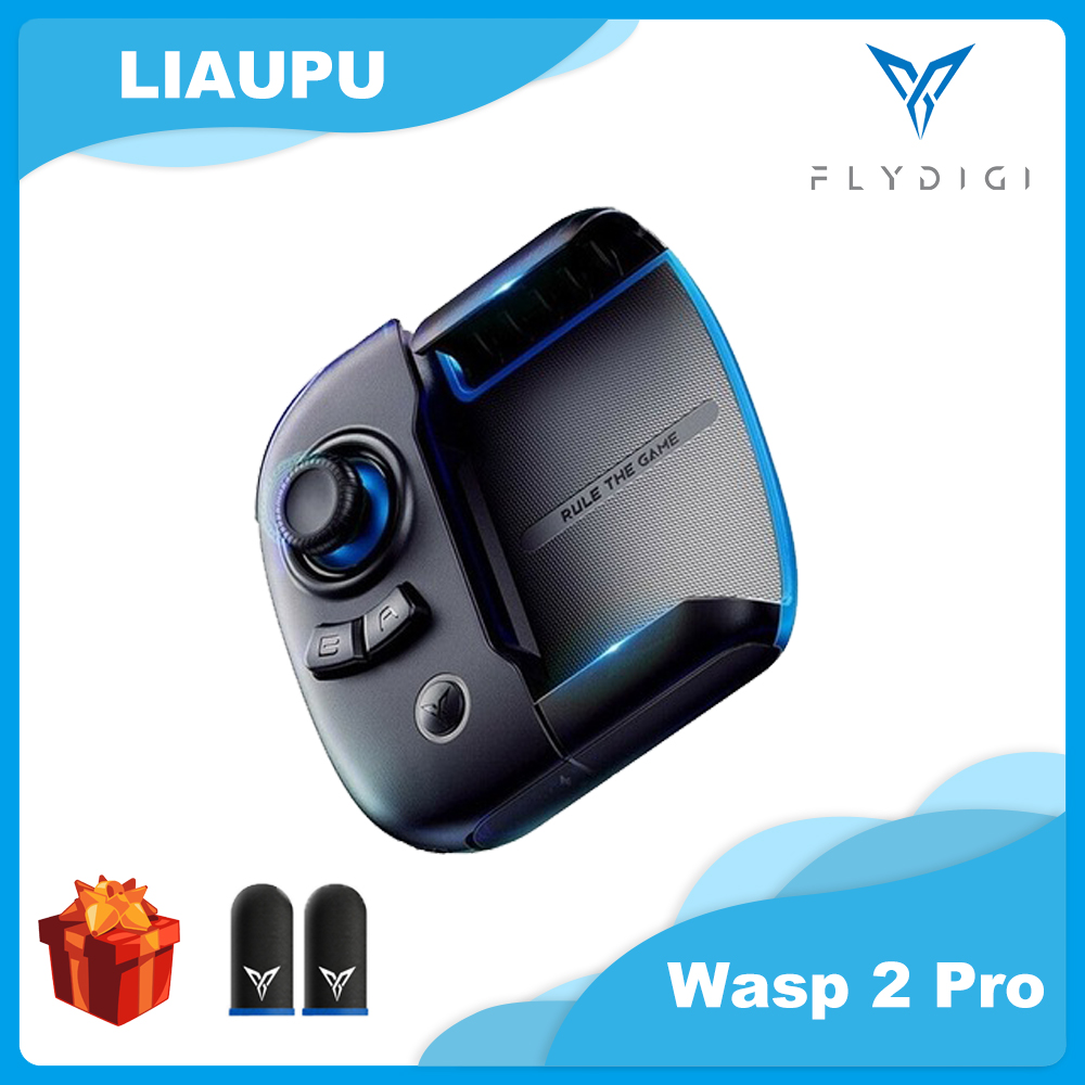 Flydigi Wasp 2 Pro One-handed Gamepad PUBG COD Artifact Peripheral Auxiliary Automatically Grabs a One-click Dress up with Dots