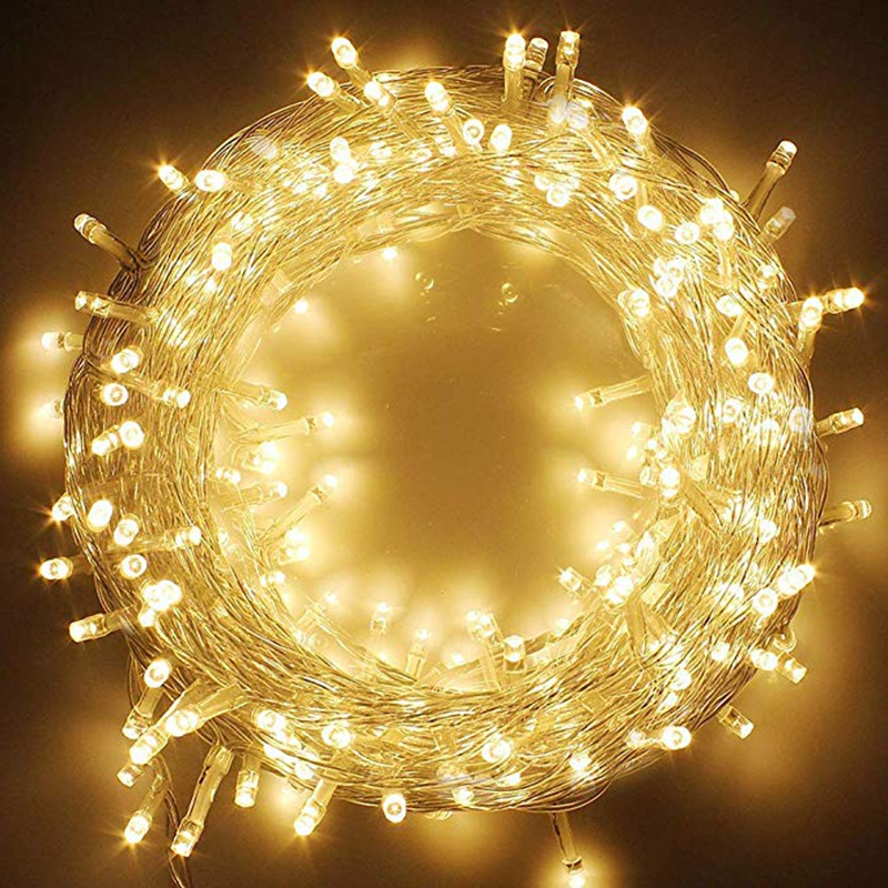 100M/50M/30M/20M/10M LED Fairy String Light Outdoor Waterproof AC220V Holiday String Garland For Christmas Wedding Party Decor