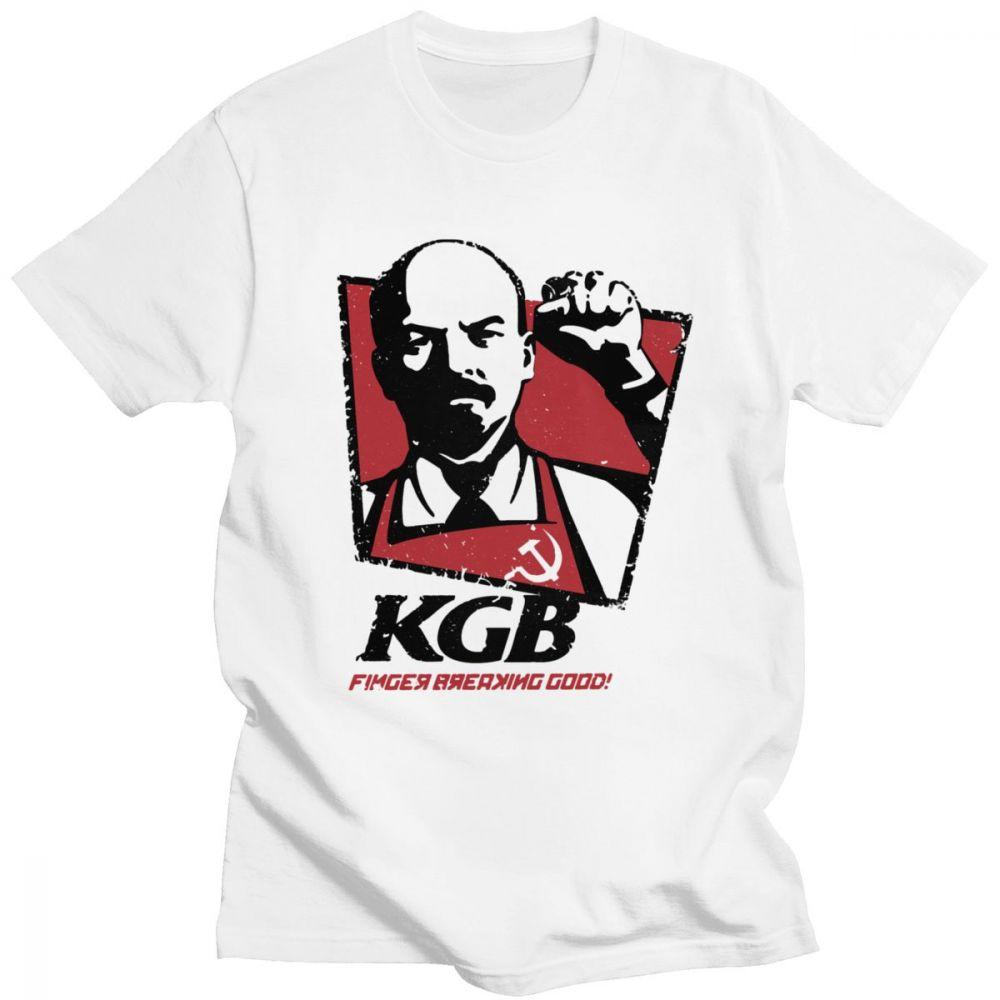 T-shirt KGB Lenine Parodie KFC URSS