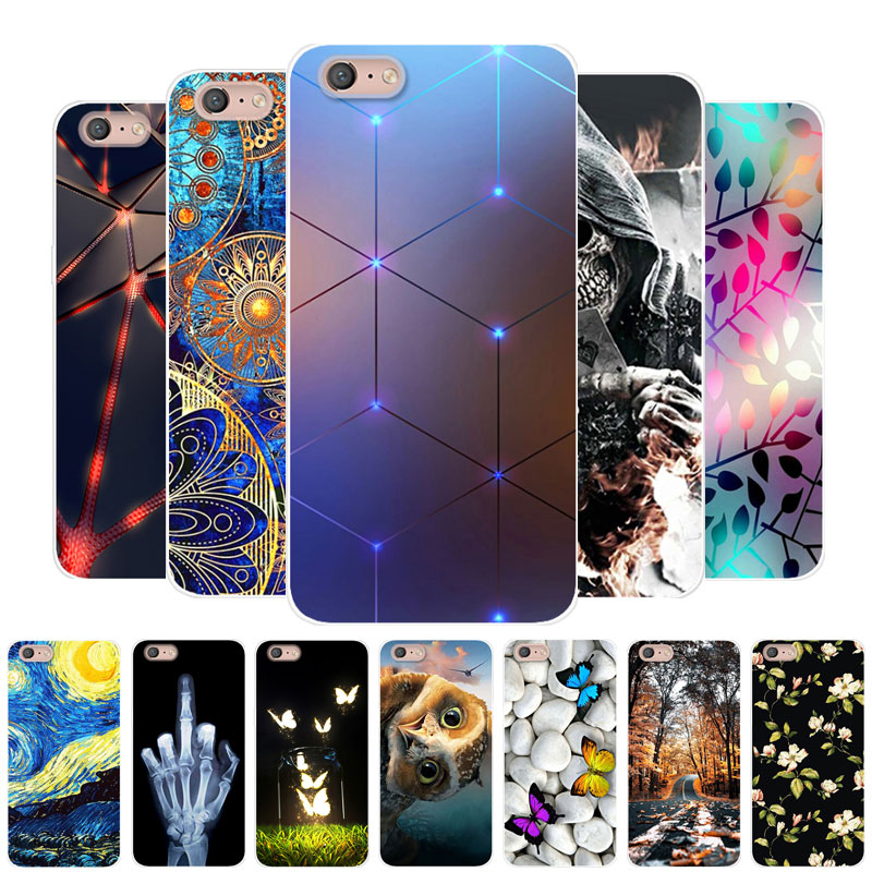 For Coque <font><b>OPPO</b></font> <font><b>A71</b></font> 2018 <font><b>Case</b></font> Silicone Painting TPU Soft Back Cover <font><b>Phone</b></font> <font><b>Case</b></font> For <font><b>OPPO</b></font> <font><b>A71</b></font> 2018 CPH1801 OPPOA71 A 71 2018 Fundas image