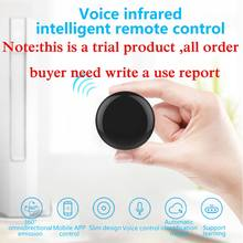TV Universal Remote Control 14m Smart Life IR Wireless Remote Control Voice Alexa Need Write Use Report Phone APP Control TV(China)