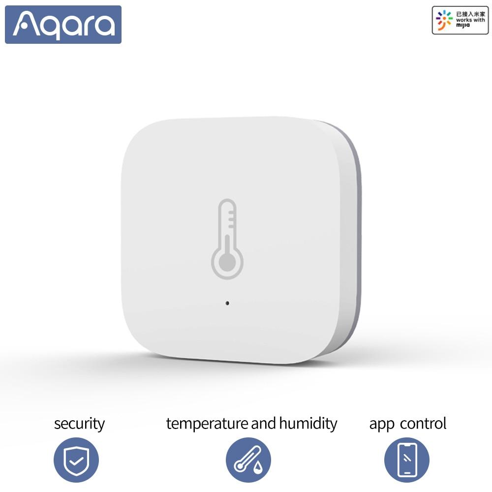 Aqara Smart Temperature Sensor Wifi Thermostat Smart Home Air Pressure Temperature Humidity Zigbee Sensor Mihome App