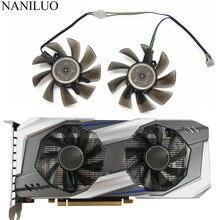 2 Pçs/lote P106 GA82S2H Para GALAX GTX1060 Fan Cooler Para Placas Gráficas GeForce GTX 1060 OC KFA2 como substituição Do Ventilador