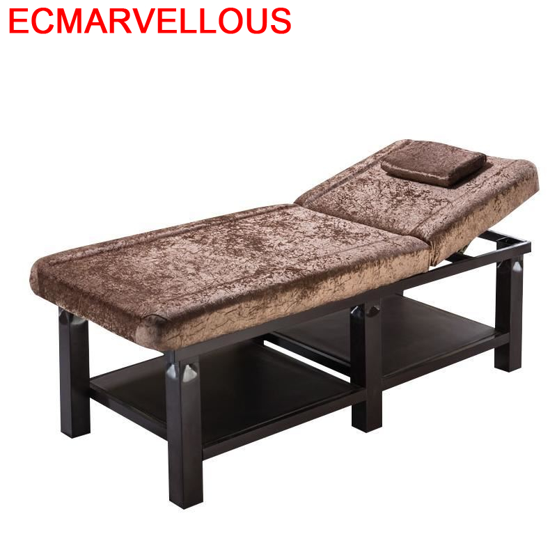Tattoo Silla Masajeadora Mueble Masaj Koltugu Foldable Salon Furniture Folding Camilla Masaje Plegable Chair Table Massage Bed