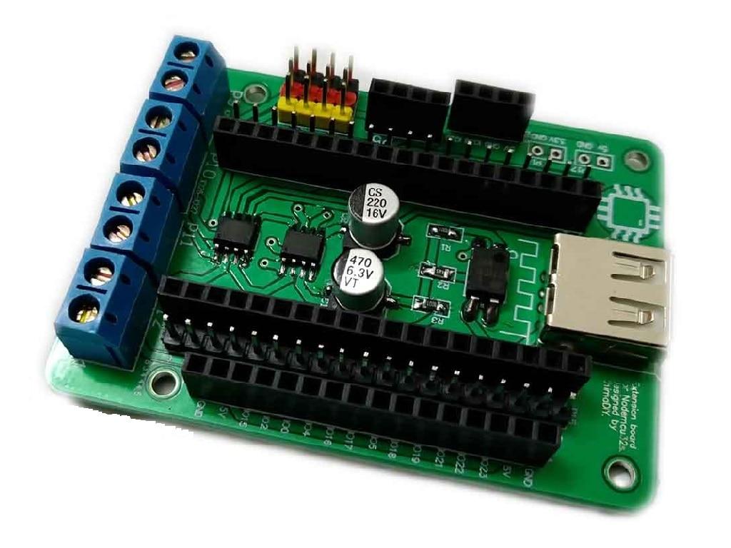 McU-32s Expansion Board Micropython Esp32