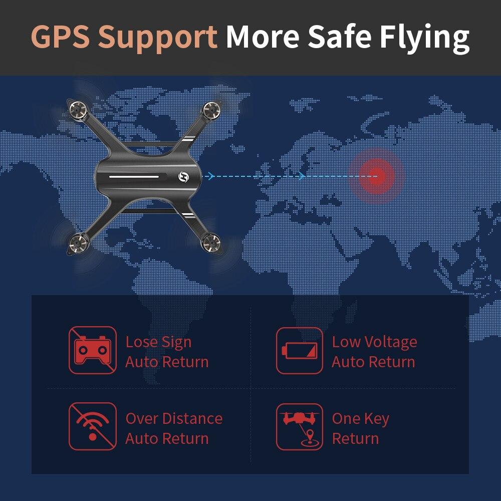 المقدسة حجر HS700 GPS Drone 5G مع كاميرا كامل HD 1080P Drone GPS فرش 1 كجم 1000M FPV المهنة كوم كاميرا Wifi Quadcopter-في طائرات هليوكوبترتعمل بالتحكم عن بعد من الألعاب والهوايات على  مجموعة 3