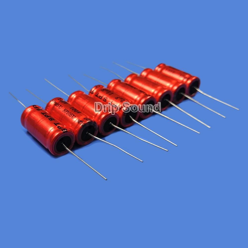 2 Pieces 250V 4.7uF Audio Crossover Speaker Divider Non-Polarity Capacitor