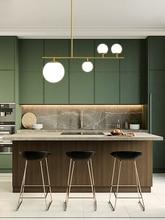 Simples e moderno preto/ouro led luz pingente de alumínio bola vidro pendurado lâmpada para nordic sala jantar quarto luminárias