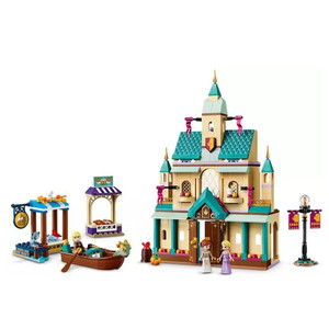 2020 ville créateur fille amis fée princesse reine Anna Elsa Arendelle château blocs de construction briques enfants jouets 41167(China)