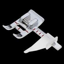 Pied de biche pour Machine à coudre à tige basse, accessoire de guidage pratique, multifonctionnel, réglable, règle de couture