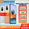 Globale Version Xiaomi Redmi Hinweis 10 Pro 64GB/ 128GB Smartphone 108MP Kamera Snapdragon 732G 120Hz AMOLED Display