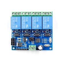 5V/12V ESP8266 1 2 4 Channel WiFi Relay Module 2-Channel Relay Module For IOT Smart Home Phone APP Controller