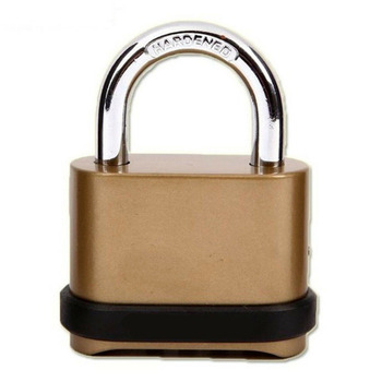 Weatherproof Security Four-digit Number Code Password Combination Zinc Alloy Lock Padlock Hardware Accessories combination security padlock 4 digit resettable code lock black pack of 2