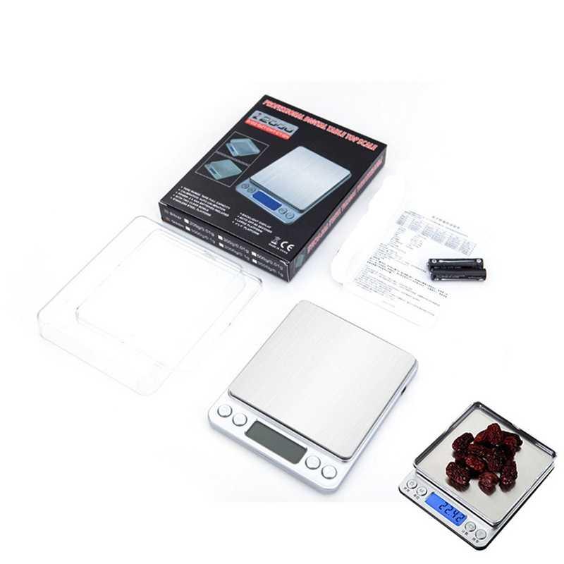 500 جرام/1/2/3 كجم 0.01/0.1 جرام LCD موازين رقمية صغيرة الدقة الإلكترونية جرام الوزن ميزان ميزان المطبخ الشاي الخبز مقياس ميزان