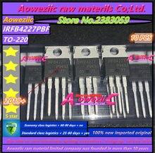 Aoweziic 2019 + 100% nowy importowane oryginalne IRFB4227PBF IRFB4227 FB4227 TO 220 n kanałowy 200V 65A rura mos PDP przełącznik