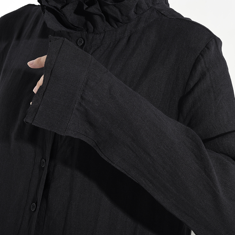 New Fashion Style Black Pleated Asymmetrical Long Dress Fashion Nova Clothing