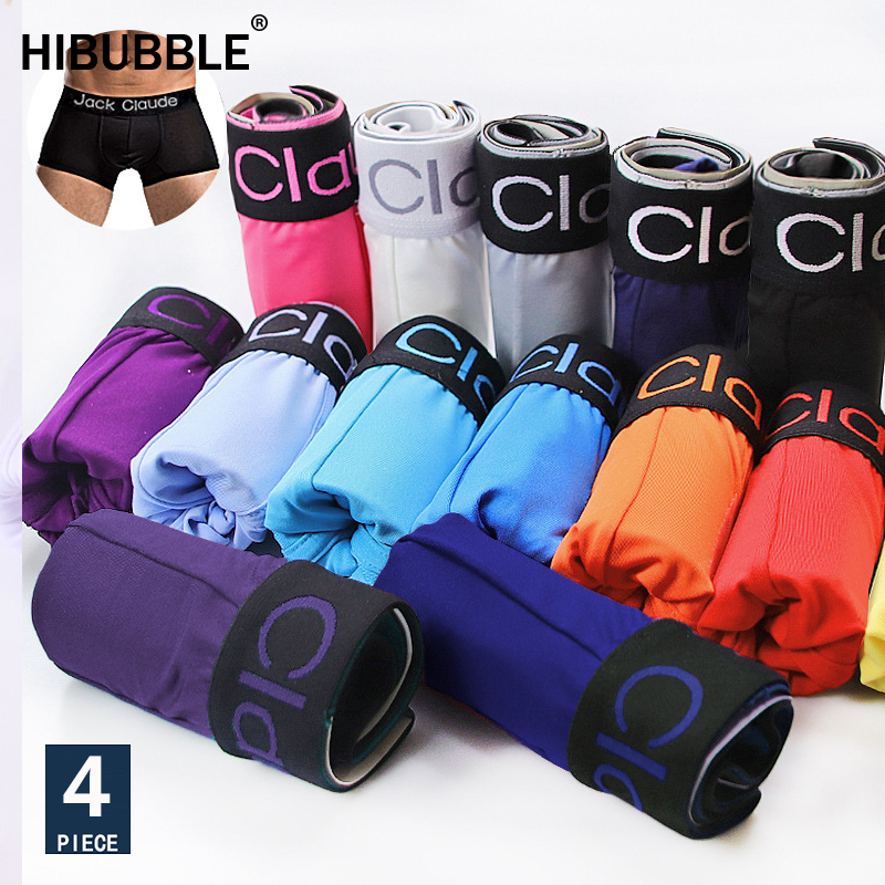 Ice Silk Boxer Shorts Underwear Sexy Boxer Men Underwear Multicolor Men's Boxer Underwear Homme Boxer Shorts Femme Plus Size