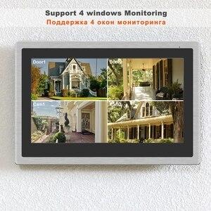Image 3 - HomeFong Wireless Video Intercom IP Video Door Phone Wifi 10 inch Touch Screen Monitor HD 1080P Doorbell Home Intercom for Villa