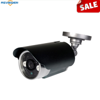 sony cmos imx225 ahd camera ahd/cvbs output With 2pcs array led night visio ICR bullet outdoor camera with bracket AS MHD8206S1
