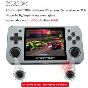 Image 3 - PS1 ANBERNIC RG350M RETRO SPIELE Aluminium shell VIDEO SPIELE Handheld spielkonsole 2500 spiele RG280M IPS open source system RG280