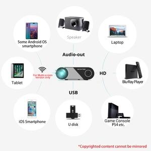 Image 5 - BYINTEK K9 Mini 720P 1080P LEDแบบพกพาMicroโฮมเธียเตอร์โปรเจคเตอร์Beamer (อุปกรณ์เสริมMulti สำหรับiphone Ipadโทรศัพท์แท็บเล็ต)