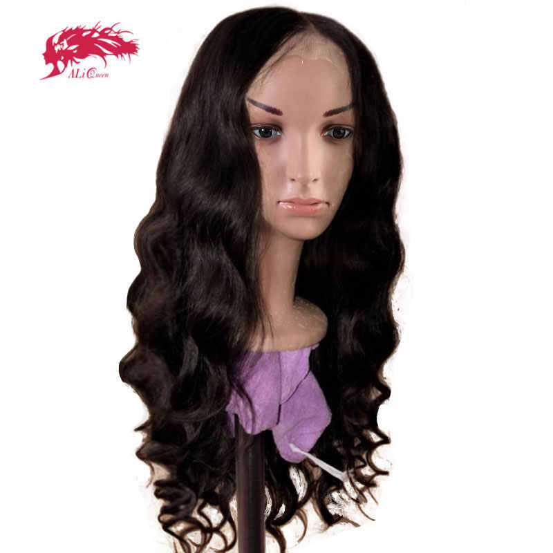 Pelucas brasileñas de onda del cuerpo 8-32 pulgadas paquete con cierre transparente de encaje HD/13x4 encaje Frontal pelucas de cabello humano Remy virgen