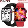 Смарт-часы CHYCET с раздельным дисплеем, поворотная кнопка, умные часы для мужчин и женщин, Bluetooth звонки, фитнес-трекер, часы PK IWO 13
