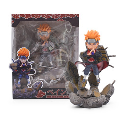 25CM 9.8'' Naruto PVC Figure Pain Naruto Shippuden GK Chibaku PVC Toy Collectible Doll Christmas gift