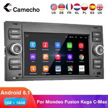 Camecho 2Din Android 8.1 Car Radio For Transit Fiesta Focus Galaxy Mondeo Fusion Kuga C-Max S-Max 7'' GPS Multimedia Player