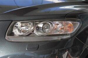 Image 4 - Автомобильная фара Объектив для Hyundai Santa Fe 2008 2009 2010 2011 2012 Автомобильная сменная крышка