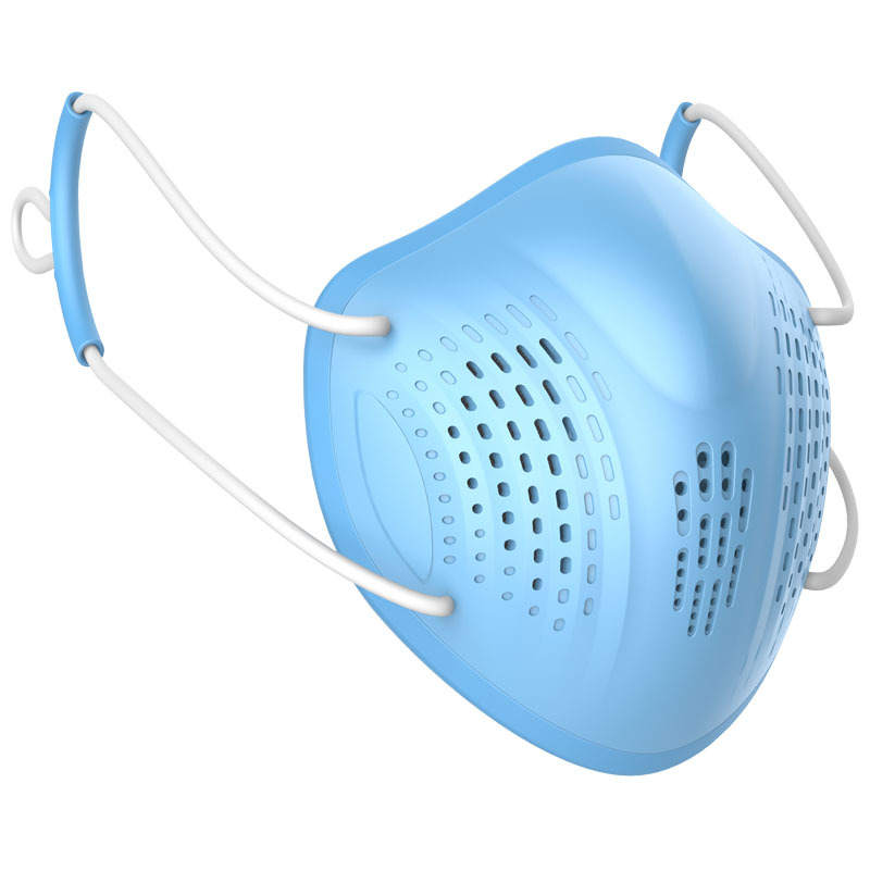 Silicon Face Mask Dustproof Mask Facial Protective Cover Washable Masks Anti Dust Bacteria Proof Facemask PM2 Innrech Market.com