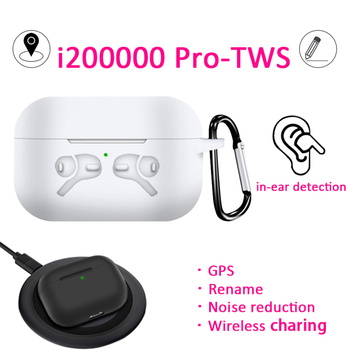 Original i200000 Pro TWS Wireless Bluetooth Earphone Headset 1:1 TWS Pop-Up 8D Hifi Stereo Earbuds PK W1 Chip i100000 i500 i9000