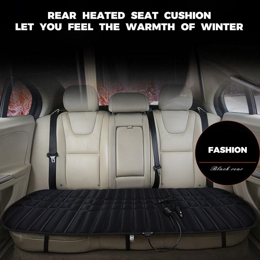 3 colori Auto Sedile Riscaldato Cinghie Elastiche Fodere Per Cuscini Auto 12v riscaldamento riscaldamento Warmer Pad Inverno 47 × 126 centimetri formato Facile Da Usare # LR2
