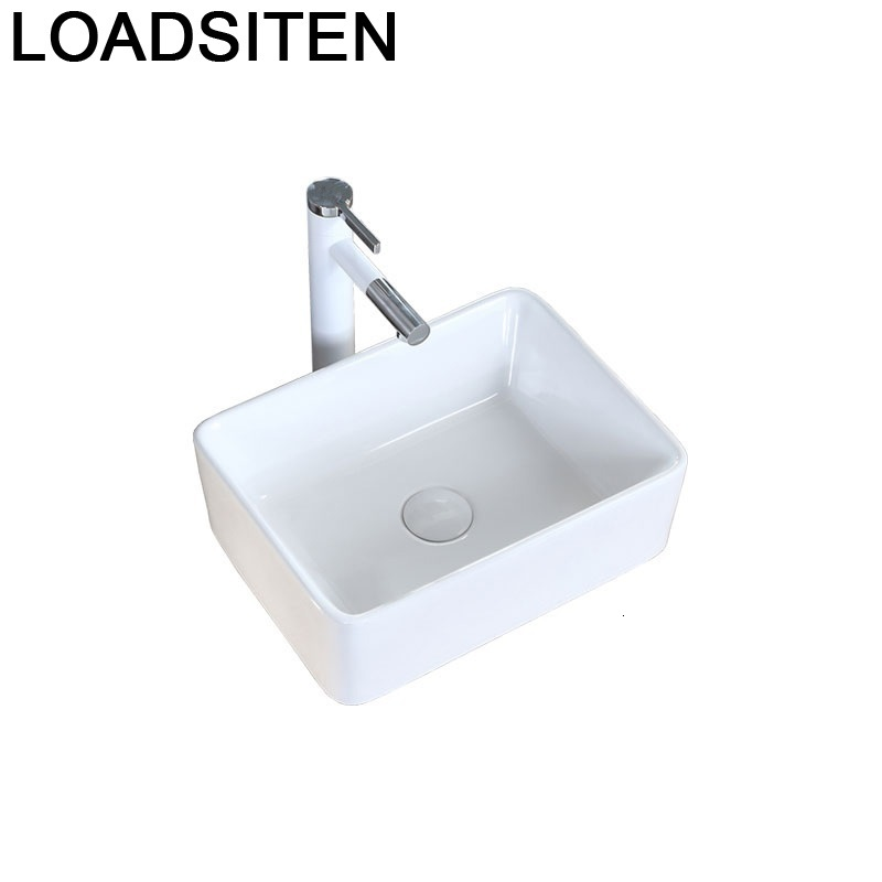 Bathroom Vanity Salle De Bain Waschtisch Umywalka Nablatowa Fregadero Bagno Black Sink Cuba Pia Banheiro Lavabo Wash Basin